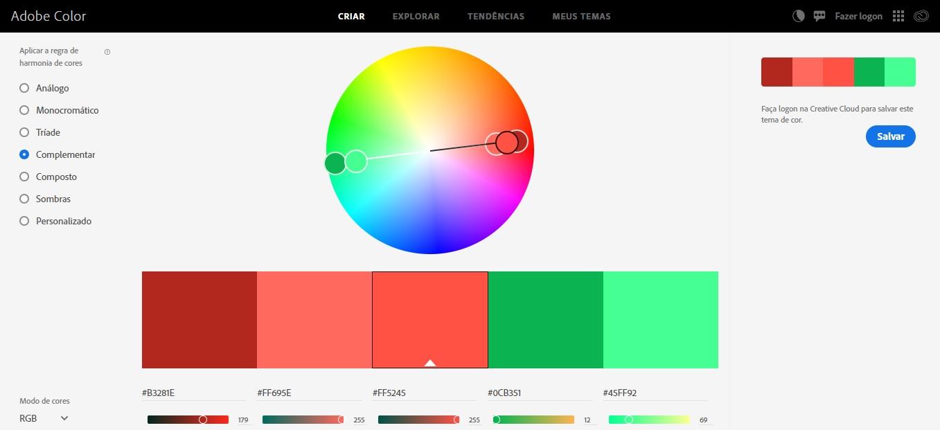 Imagens que convertem - Adobe Color