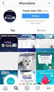 Conteúdo Gerado pelo Usuário (hashtags)