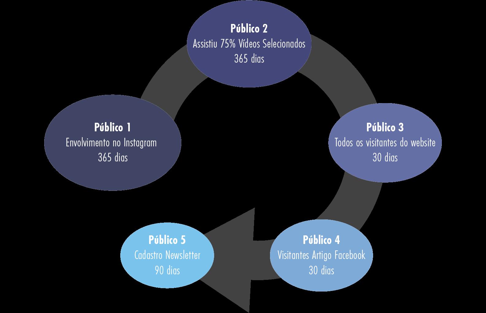 Diagrama de públicos Personalizados